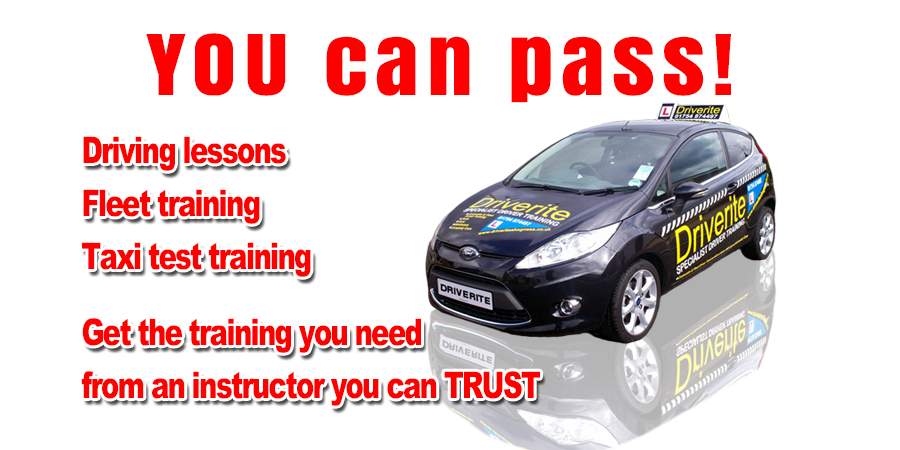 Driving lessons with DriveRite Driving School